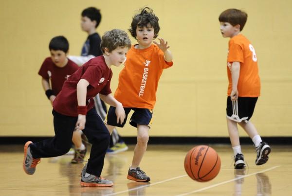 YMCA Youth Basketball Program, 2-14-14.