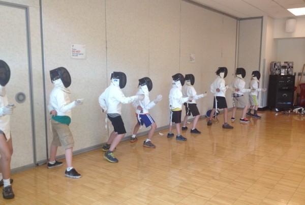 School Age Fencing