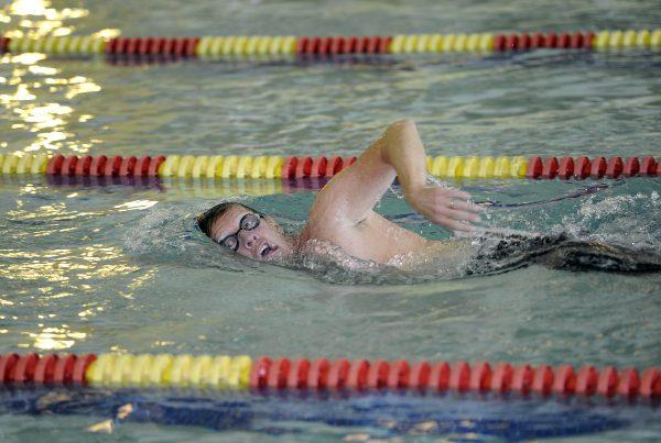 Ann Arbor YMCA Indoor Triathlon, Sunday, March 15, 2015.